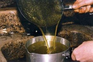 La première huile